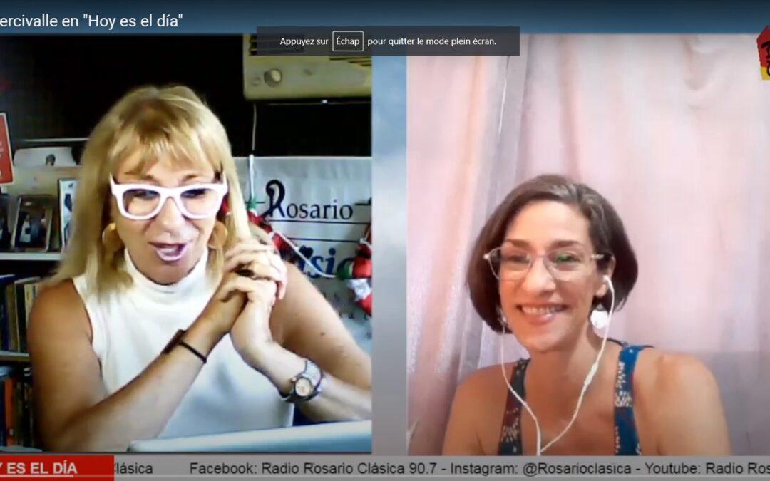 """Paula Percivalle en """"Hoy es el día"""""""